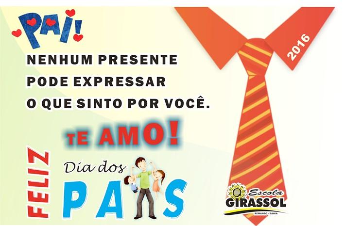 14 De Agosto Dia Dos Pais Escola Girassol Remanso Bahia