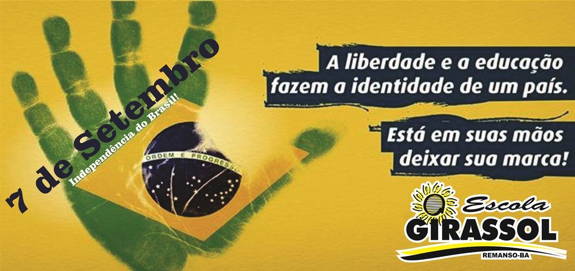 independencia - ESCOLA GIRASSOL